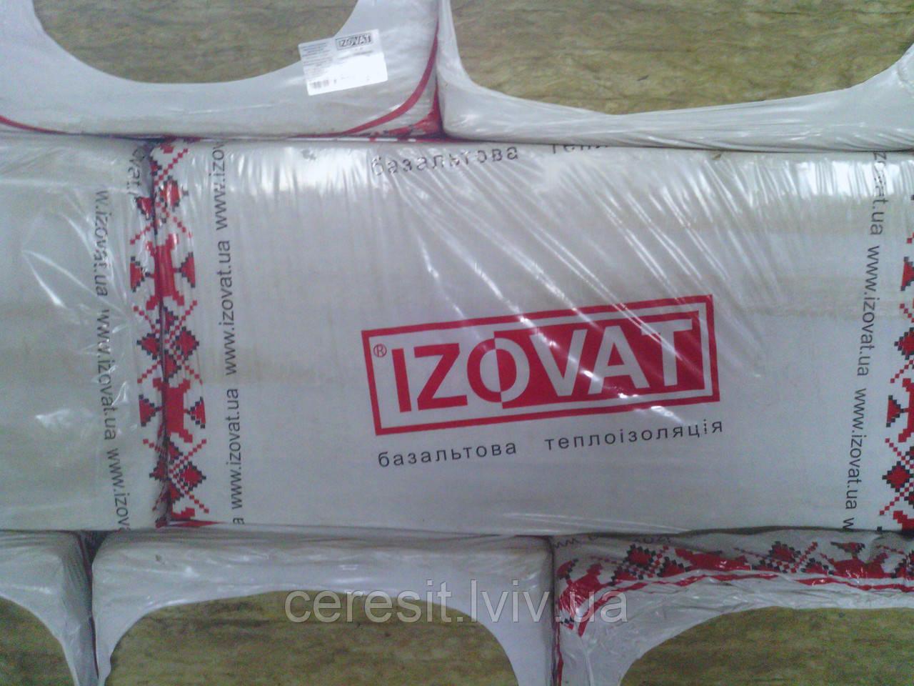 Izovat базальтова вата для даху 25-30кг/м3