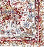 Балаганчик 203-5, павлопосадский платок шерстяной  с шелковой бахромой, фото 4