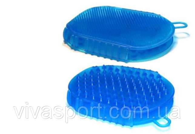 Мочалка массажная для ванны варежка Варюша, чудо-варежка Варюша, фото 1