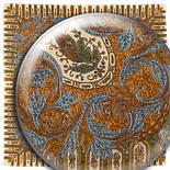 Зима 586-5, павлопосадский вовняну хустку з оверлком, фото 2