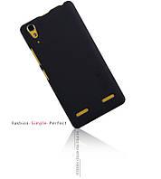 Чехол-бампер и плёнка NILLKIN для телефона Lenovo K3 черный