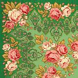 Иван да Марья 1505-9, павлопосадский платок шерстяной  с осыпкой (оверлоком), фото 2