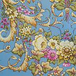 Діва 1474-63, павлопосадский шарф-палантин вовняної з шовковою бахромою, фото 2