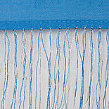 Діва 1474-63, павлопосадский шарф-палантин вовняної з шовковою бахромою, фото 3