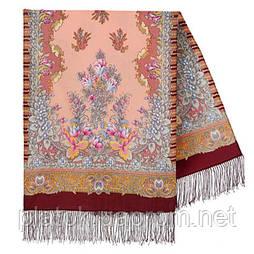Дивне літо 1497-7, павлопосадский вовняний шарф з шовковою бахромою