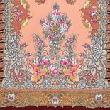 Дивное лето 1497-7, павлопосадский шарф шерстяной  с шелковой бахромой, фото 2