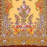 Дивное лето 1497-66, павлопосадский шарф шерстяной  с шелковой бахромой, фото 2