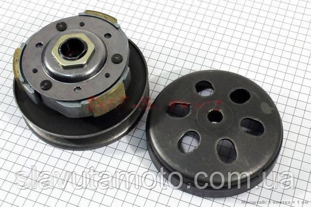Вариатор задний в сборе (Formula)  (скутер 125-150куб.см)