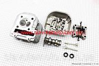 Головка цилиндра+клапана+распредвал+крышка в сборе 150сс WH150  (скутер 125-150куб.см), фото 1