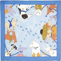 Винил и компания 1352-13, павлопосадский платок (на голову, шейный) хлопковый (батистовый) с подрубкой   Стандартный сорт    СКИДКА!!!