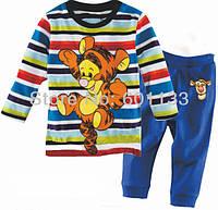 "Пижама для мальчика ""Лева голубой"""