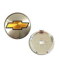 Колпачки заглушки легкосплавных дисков Chevrolet 60mm