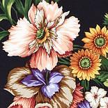 Итальянский полдень 1281-18, павлопосадский платок (атлас) шелковый с подрубкой, фото 7