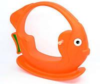 """Качели """"Рыбка"""" - цвет оранжевый """"K-PLAST"""""""