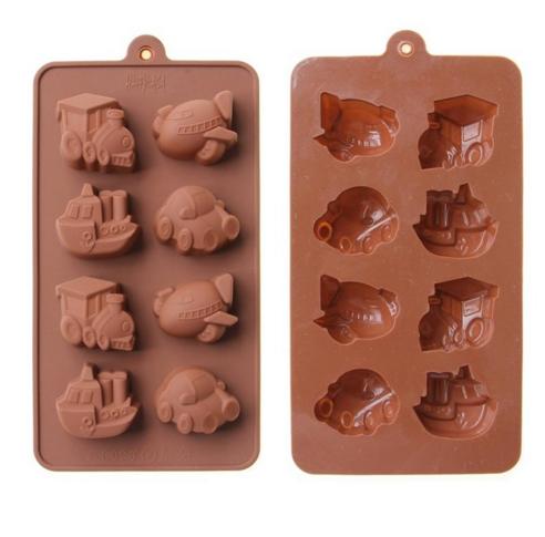 Форма силиконовая для конфет Детская 8 шт