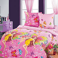 Ткань для детского постельного белья, бязь Красотки, фото 1