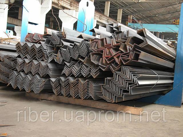 Уголок стальной 75 х 75 х 5 мм