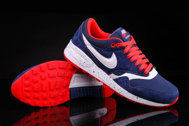 Кроссовки Nike Air Odyssey Navy Blue White Red