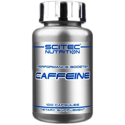 Caffeine Scitec Nutrition 100 caps , фото 2