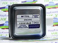 Магнетрон 2M319J аналог LG, MIDEA, на 6 пластин, крепежи перпендикулярно контактам, для микроволновой СВЧ печи