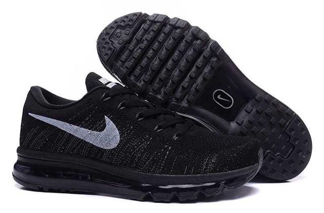 Кроссовки мужские Nike Flyknit Air Max Black