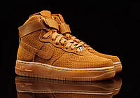 Мужские кроссовки Nike Air Force High Mustard Yellow