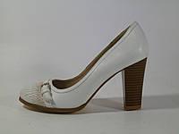 Туфли белые женские Camidy