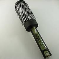 Расческа DAGG круглая, прорезиненная ручка, металлический корпус, диаметр 45/65., фото 1