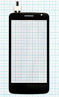 Тачскрин сенсорное стекло Prestigio MultiPhone 3501 Duo Black