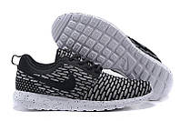 Кроссовки мужские Nike Roshe Run Flyknit London Black , фото 1