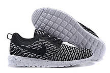 Кроссовки мужские Nike Roshe Run Flyknit London Black