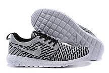 Кроссовки мужские Nike Roshe Run Flyknit London Grey