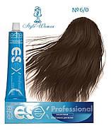 Профессиональная краска Estel Essex 6/0 Эстель Эсекс темно- русый