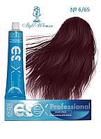 Профессиональная краска Estel Essex 6/65 Эстель Эсекс темно- русый фиолетово-красный бордо
