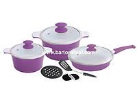 Набор посуды Barton Steel 6510
