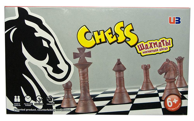 Шахматы магнитные от интернет-магазина настольных игр