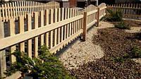 Деревянный забор, декоративный, для сада, огорода.
