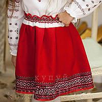 Дитяча спідничка до вишиванки, фото 1