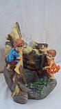 Фонтан настольный «Гензель и Гретель» 28х19х14 см, фото 3