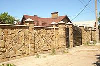 Заборы из дикого камня Житомир, фото 1