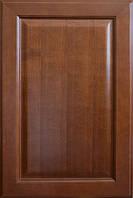 Фасады из дерева (бук) Римини  1 цвет орех филенка черешня