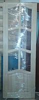 Двери из сосны филенчатые под стекло 600-700-800*2000 мм.