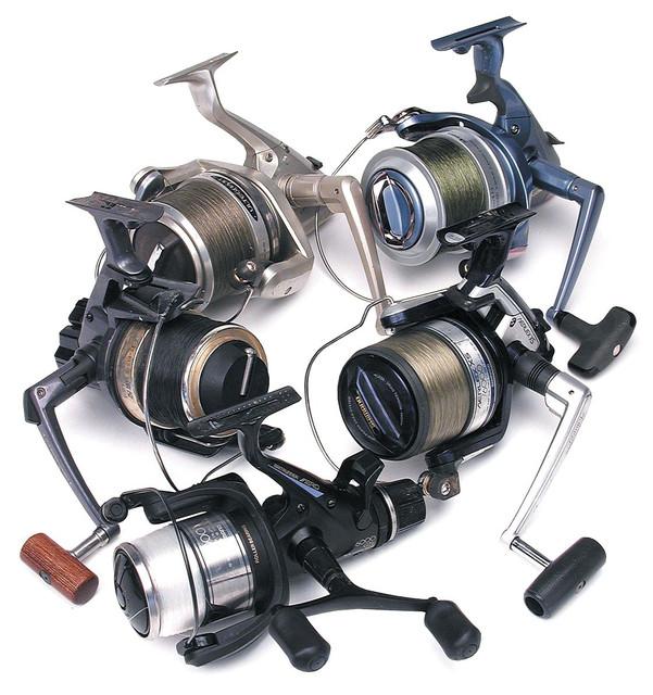 Катушки рыболовные