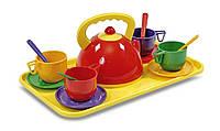 Набор детской посуды 14 предметов Юника