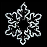 """Светодиодная фигура """"снежинка"""" LED-XM(FR)-2D-CK004-240V-24"""
