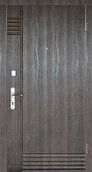 """Вхідні металеві двері """"Портала"""" для квартири (серія Комфорт) ― модель Лайн"""