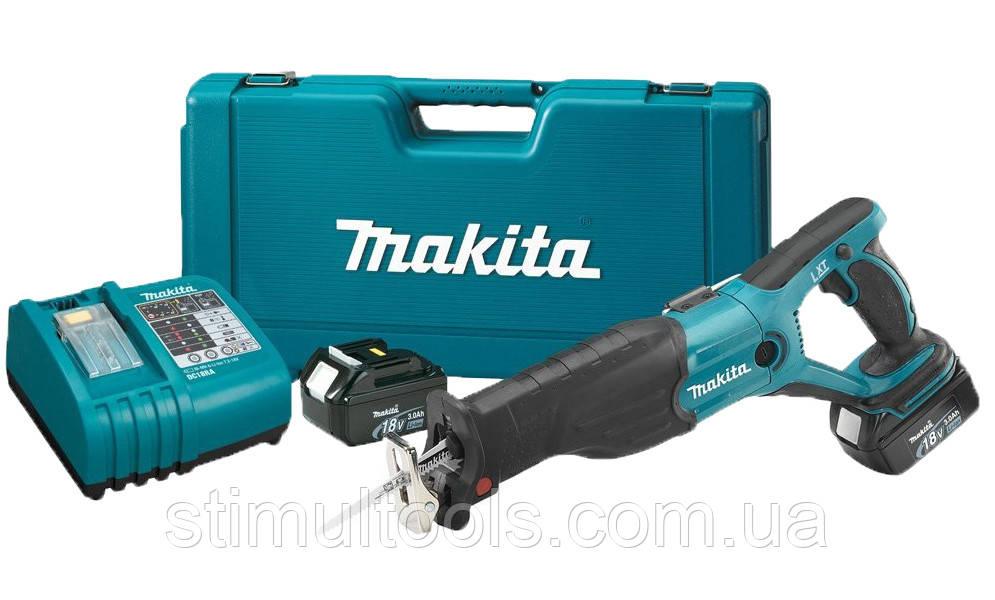 Аккумуляторная ножовка Makita DJR181RFE