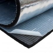 10 mm  каучук з  клеючою основою та покриттям з алюмінієвої фольги СПЕЦ ЦЕНА МОНТАЖНЫМ ОРГАНИЗАЦИЯМ