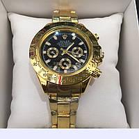Часы наручные Rolex Daytona Gold Black NEw,женские наручные часы, мужские, часы Ролекс