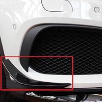 Накладки спойлер на передний AMG бампер Mercees GLA Class X156 2014-17 новые оригинал
